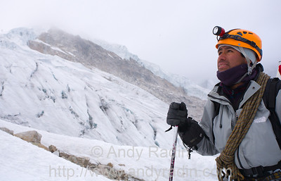 Climbing Mt. Ishinca (Willy)