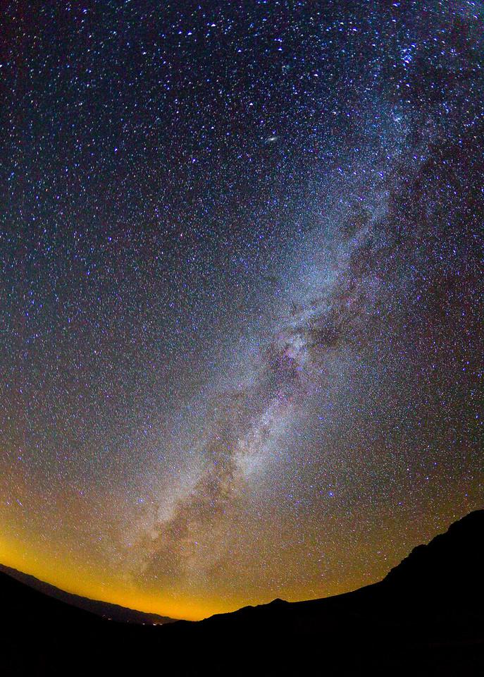 The Milky Way, from 11,630 feet elevation on White Mountain Peak