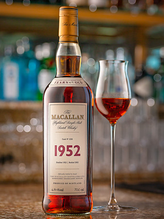 The Macallan 1952 Highland Single Malt Scotch Whisky.