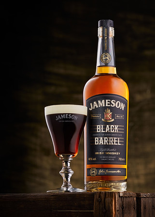 Black Barrel Irish Coffee