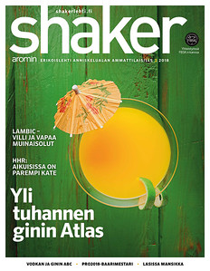 The new issue of Shaker magazine is out! Cover picture & Cocktail by me.