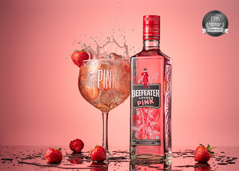 Beefeater Pink splash