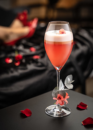 My bed of Roses cocktail