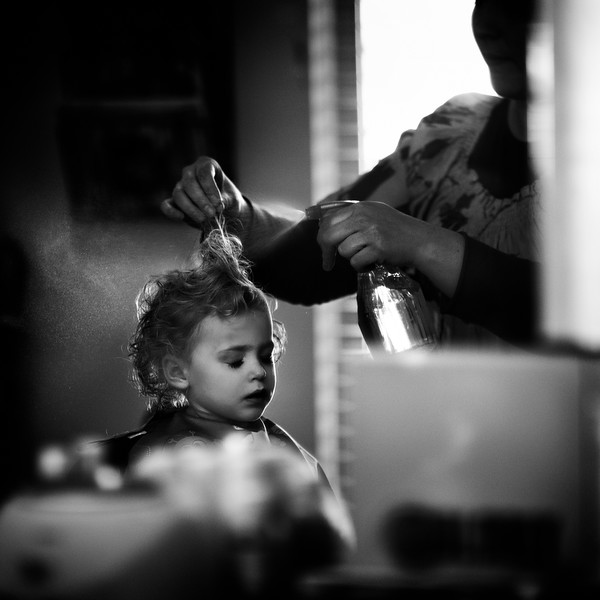 The First Haircut