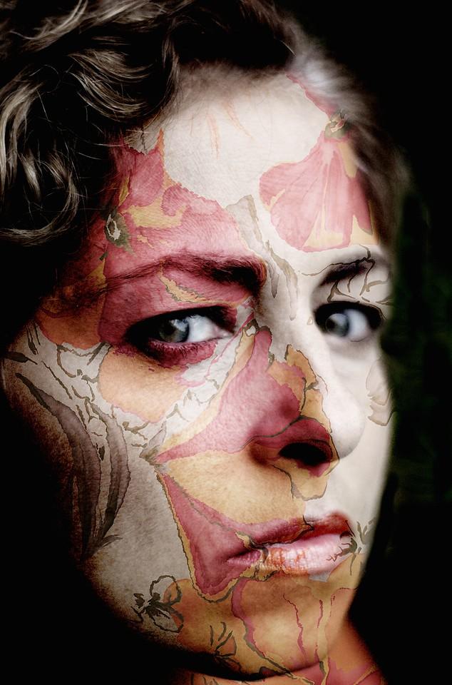 Diana-body painting 1