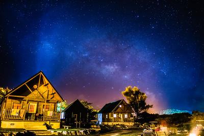 Milkyway Over Okuma