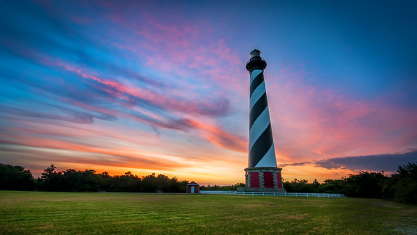 Sunrise at Cape Hatteras Lighthouse - May 16