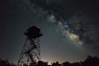 Milky Way at the Fire Tower