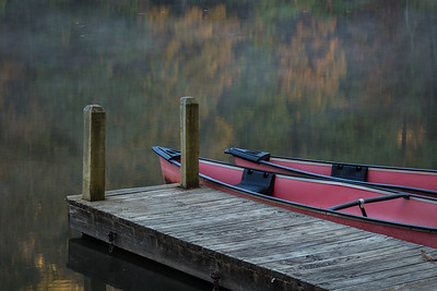 Autumn Canoes