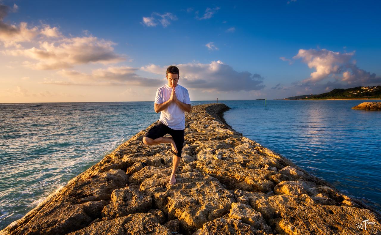 Yoga Self Portait