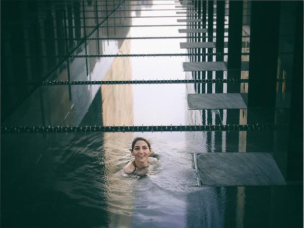 Swimming in LA