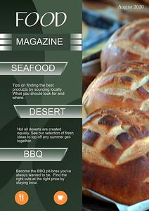 Food Mag-template