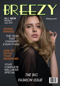Magazine; Cover; Layouts