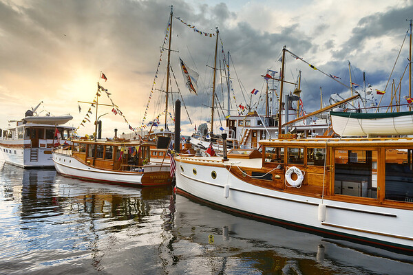 Classic Boats - Victoria Inner Harbour