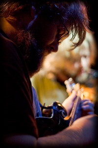mandolin player from trampled by turtles