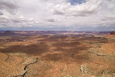 Canyonlands near Grand View Point Overlook