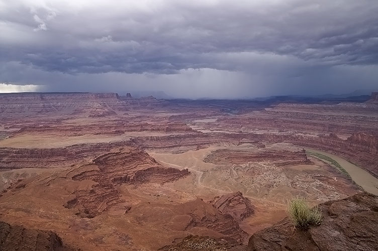 Thunderstorm over Dead Horse Point