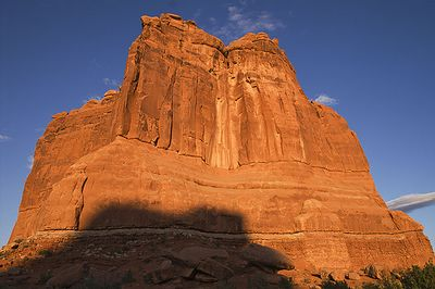 Cathedral Rock in Arches NP