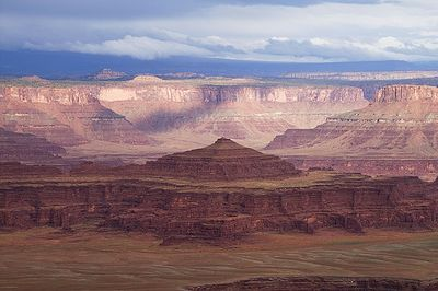 Dead Horse Point after thunderstorm