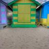 Brighton Beach. Colourful Beach Hut, Victoria
