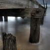 Old pier on St Kilda Beach, Victoria