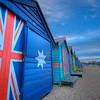 Brighton Beach. Colourful Beach Hut, Victoria, Australia