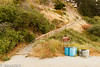 Stairway to beach. <br /> New Brighton State Park, <br /> Santa Cruz, CA, US