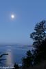 Moonset over Capitola<br /> New Brighton State Beach<br /> Santa Cruz, CA, US