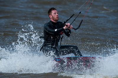 11-04-2017 Kitesurfing ved Bork Havn