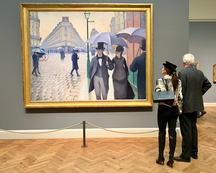 Paris Street; Rainy Day - Art Institute of Chicago.