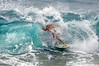 SKIM BOARDER TRYS TO GET WRAPPED AT SHORE BREAK....2012 SKIM BOARD CHAMPION SHIPS ...