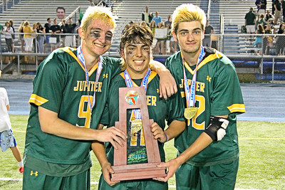Jupiter topped Bishop Moore 11-8 to win their first Florida State Championship.  May 12, 2018, Boca Raton High School, Boca Raton, FL