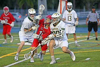 Saint Andrews incredible run in 2018 falls 1 game short of the State Championship Game when Jupiter upended them 12-5 in the State Semifinals.  May 11, 2018, Boca Raton High School, Boca Raton, FL