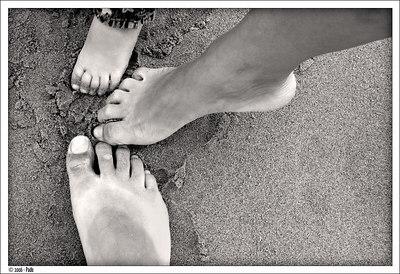 Three feet, one family