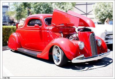 Red Hot Rod from Solvang's old car event