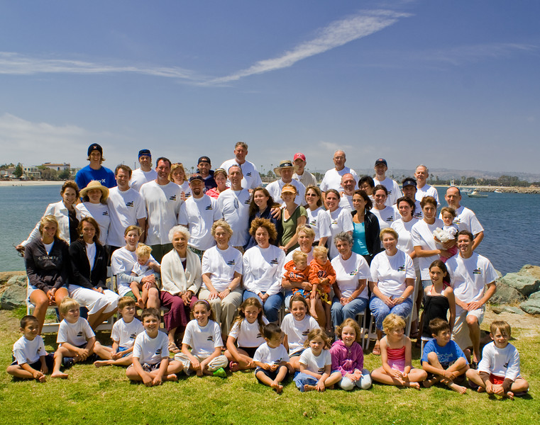 Drake's Group Shot<br /> Mission Point, San Diego, California - June 2007