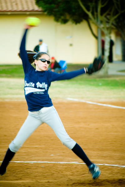 Softball Pitcher<br /> Bonita, CA - February 2007