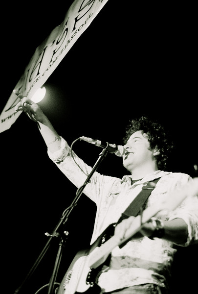 Zia's Soul's vocal and guitar, Lawrence Montes<br /> Las Cruces, NM - April 2007