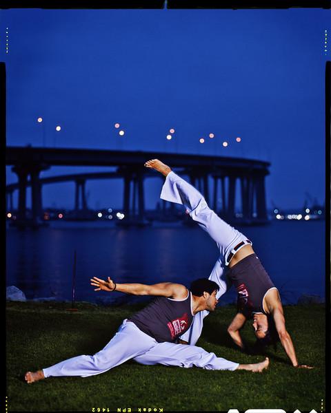 Capoeira até o anoitecer<br /> Coronado, California - May 2007