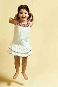 Little Girl and the White Dress Padu's Studio, Eastlake, California - January 2008