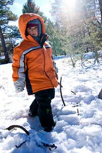 Snow Kid Mount Laguna, California - December 2008