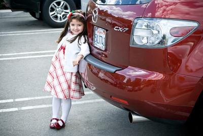 Little Girl Eastlake, California - December 2008