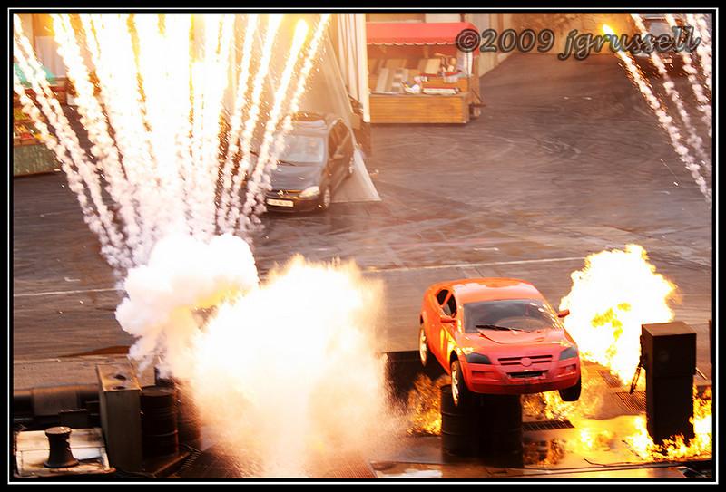 Lights, motors, action!
