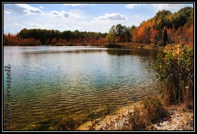 Lake, Plainsboro Preserve