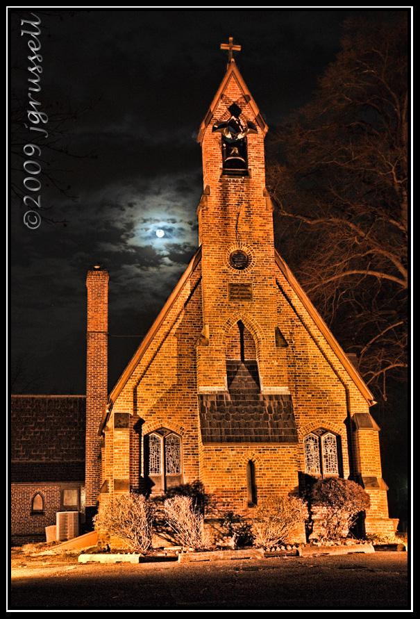 Moonrise at Trinity