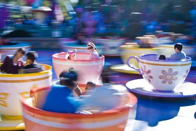 Tea Party Disneyland, Anaheim, California - January 2009