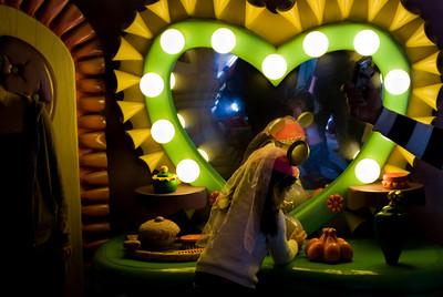 Minie's Mirror Disneyland, Anaheim, California - January 2009