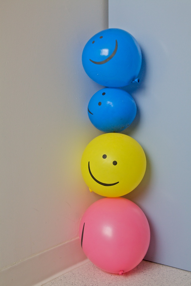 Week 6 - balloons, there are only so many things to photograph in a hospital room  - Canon 5D2 with om 35-80/2.8