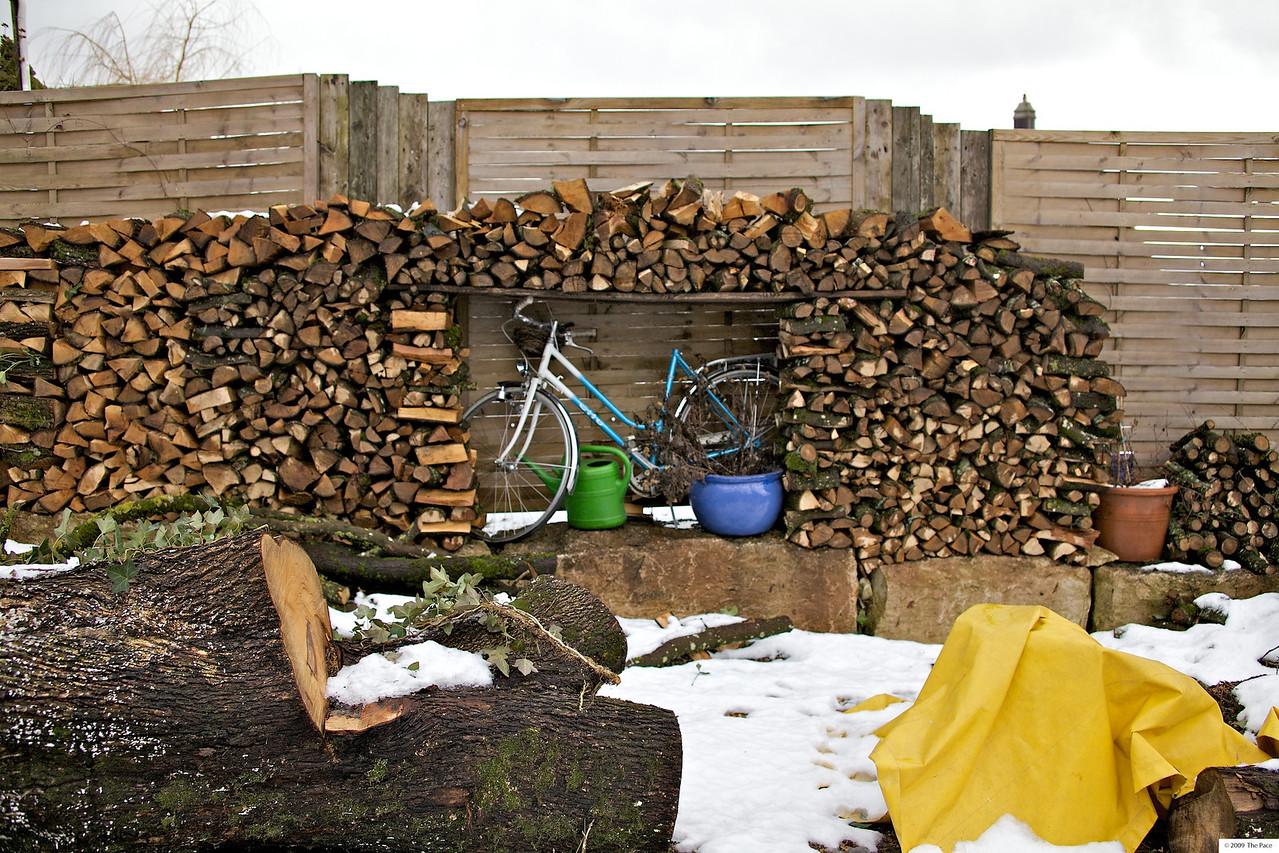 Week 3 2010 - Log jam - 5D and OM 35-80/2.8
