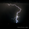 Colorado Lightning - August 3, 2011. Driving from Denver to Fort Collins gave me an amazing light show!
